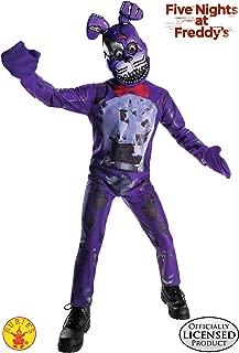 Rubie's Costume Boys Five Nights at Freddy's Nightmare Bonnie The Rabbit Costume, Medium, Multicolor