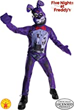 Rubie's Costume Boys Five Nights at Freddy's Nightmare Bonnie The Rabbit Costume, Large, Multicolor