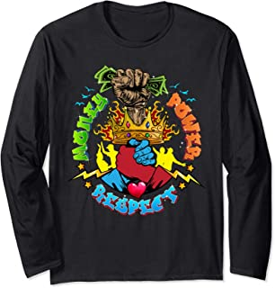 Urban - Money Power Respect Long Sleeve T-Shirt
