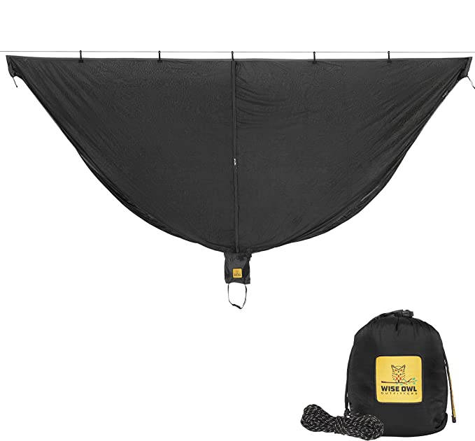 Wise Owl Outfitters Hammock Bug Net - Best Insect Protection