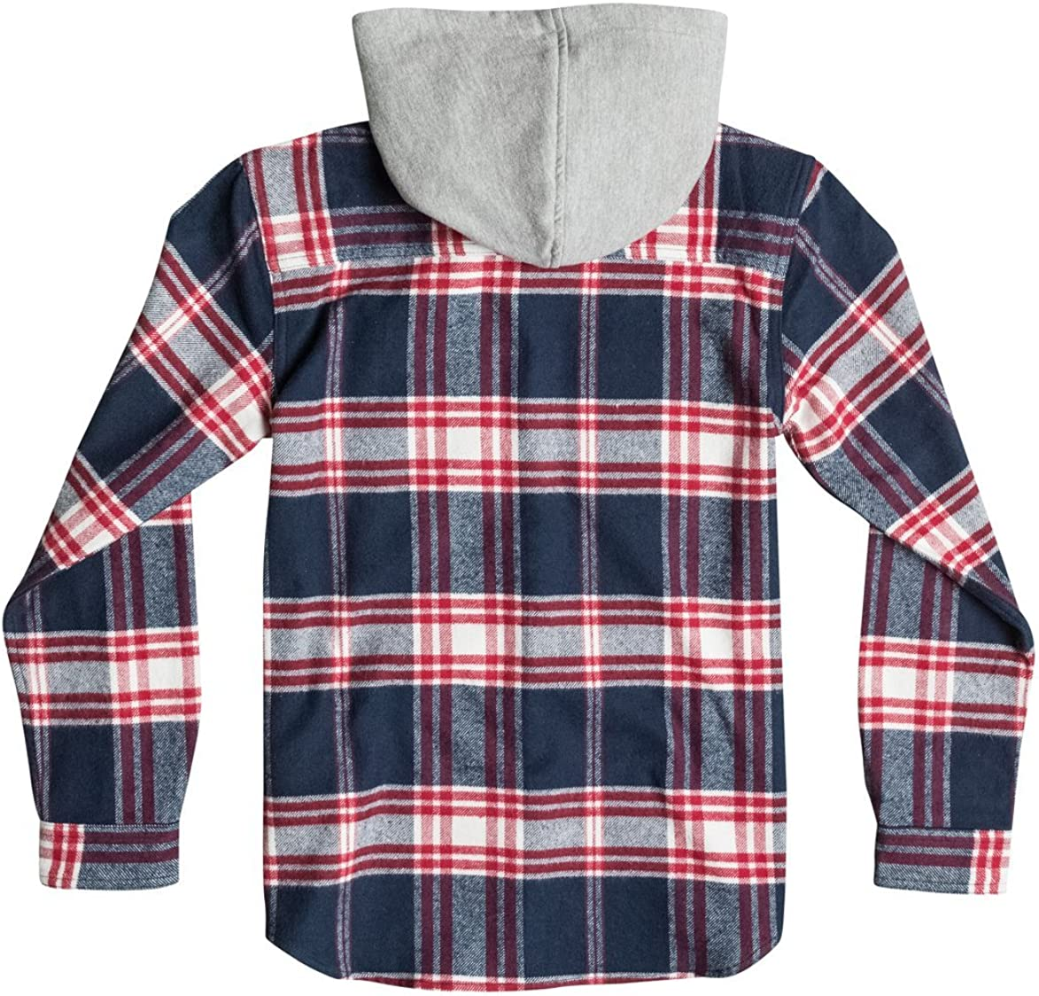 DC Shoes Hood Up LS By B Wvtp Btl5 Camicia Unisex Bambini