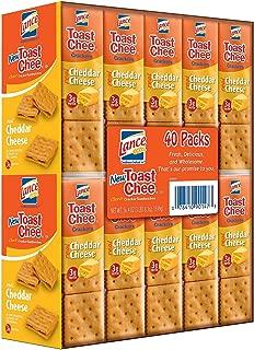 Lance Toast Chee Cheddar Sandwich Cracker (40 Pk.)