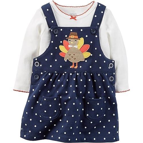 Keep Calm First Thanksgiving Turkey Soft Infant One Piece