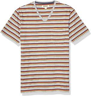 Amazon Brand - Goodthreads Men's Soft Cotton Short-Sleeve V-Neck Pocket T-Shirt