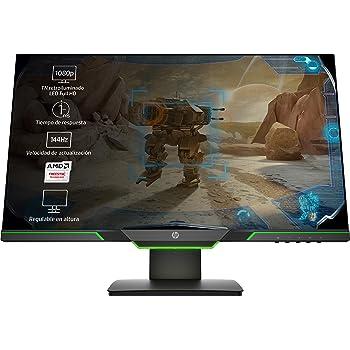 HP 25x - Monitor Gaming de 24.5 Full HD (1920x1080, TN, 16:9 ...