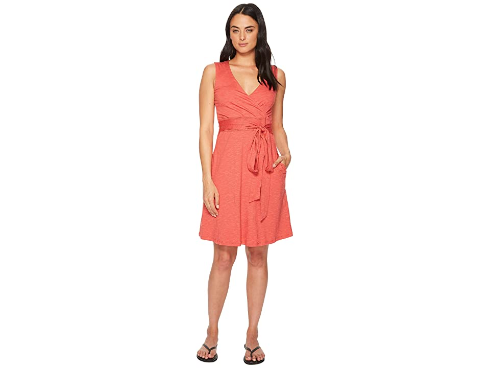 Toad&Co Cue Wrap Sleeveless Dress (Rhubarb) Women
