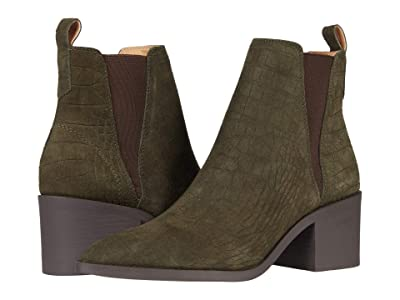 Steve Madden Audience Boot (Olive Suede) Women