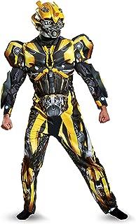 Men's Bumblebee Movie Deluxe Adult Costume