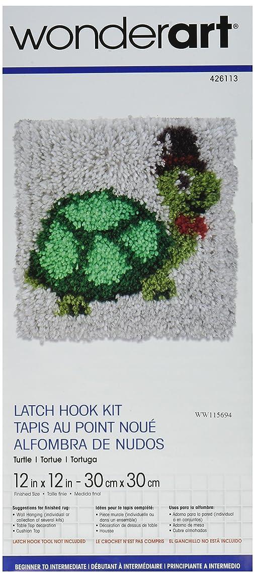 Wonderart Turtle Latch Hook Kit, 12