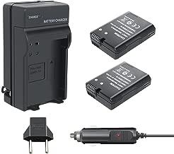 TURPOW EN-EL14 EN-EL14A Battery Charger Set 2 Pack 1500mAh Replacement Battery Compatible with Nikon D3100 D3200 D3300 D5100 D5200 D5300 D5500 DF Coolpix P7000 P7100 P7700 P7800 DSLR Camera