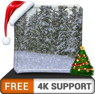 forte nevasca HD - decore seu quarto com belas paisagens na sua TV HDR 4K, TV 8K e dispositivos de fogo como papel de parede, decoração para as férias de Natal, tema para mediação e paz