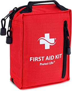 Survival Kit - 100 Piece - First Aid Kit for Camping, Hiking, Backpacking, Travel, Outdoor - Stocked with Emergency Supplies & Survival Tools