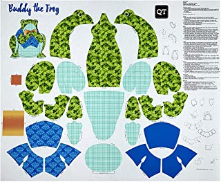 Fabric & Fabric QT Fabrics Sew & Go Iii Buddy The Frog Stuffable 36