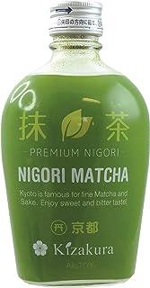 300ml  KIZAKURA Sake Matcha Nigori aus Japan, alc. 10% vol/grüner Tee Geschmack