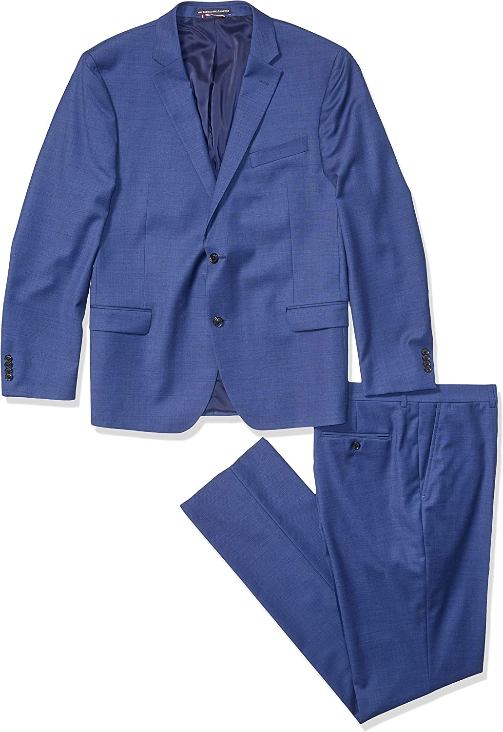 Tommy Hilfiger Men's Slim Fit Performance Suit with Stretch