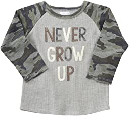 Mud Pie - Never Grow Up Long Sleeve Shirt (Infant/Toddler)