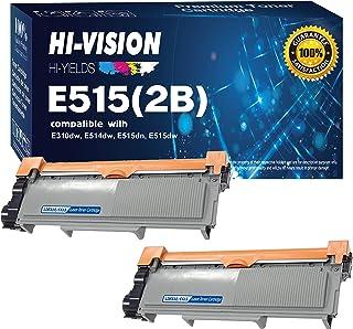HI-Vision 2 Pack Compatible 593-BBKD (PVTHG) Toner Cartridge Replacement for Dell E310dw E514dw E515dw E515dn