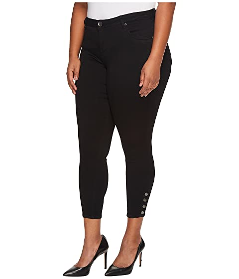 Plus the from Legs Kloth Connie Size Ankle KUT Snaps Side Black Skinny in 5ftqO6cyK