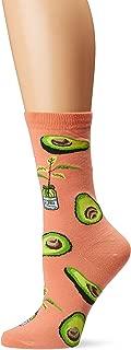 Women's Food & Drink Novelty Casual Crew Socks