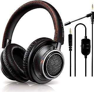 NEEGO Philip Audio Fidelio L2 - Auriculares de Diadema Abiertos (40 mm y micrófono acoplable para Auriculares, Juego y com...