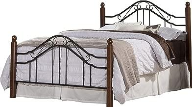 Hillsdale Furniture 1010BQR Madison Bed Set with Rails, Queen, Textured Black