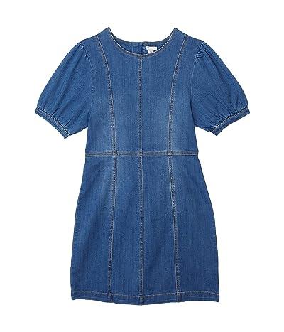 HABITUAL girl Puff Sleeve A-Line Dress (Big Kids)