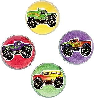 Fun Express Inc. Monster Truck Bouncing Balls (1 Dozen) - Bulk