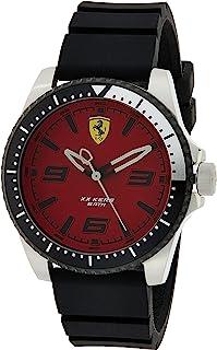 Ferrari Men's Analog Quartz Watch with Silicone Strap 0830463