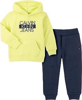 Calvin Klein Baby Boys' 2 Pieces Hooded Jog Set