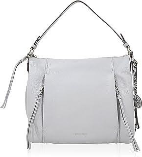 MICHAEL MICHAEL KORS Corinne Large Leather Shoulder Bag, Dove