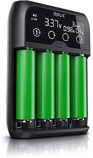 CSL – universal batteriladdare – batteriladdare intelligent batteriladdare – för Li-ion, NI-MH, NI-Cd, LiFePo4-batterier 1...