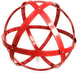 Genesa Crystal, Purificatore energia, Dispositivo orgonico 32 cm diametro, Rosso