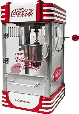 Nostalgia RKP730CK Coca-Cola 2.5-Ounce Kettle Popcorn Maker, Red