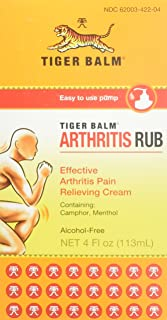 Tiger Balm - Arthritis Tiger Balm Rub 4 Oz