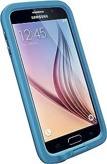 LifeProof FRĒ Samsung Galaxy S6 Waterproof Case - Retail Packaging - BASE JUMP BLUE (BASE BLUE/SNOWCONE BLUE)