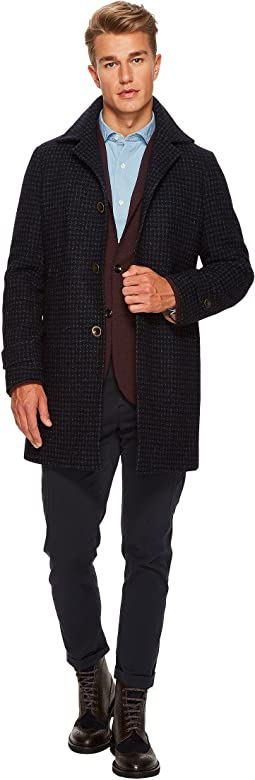 eleventy - Houndstooth Car Coat