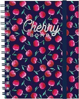 Bonds Maxi Trio Spiral Notebook - Cherry Bomb