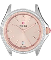 Michele - 37mm, Belmore Two-Tone Diamond Dial Rose Gold/Beige