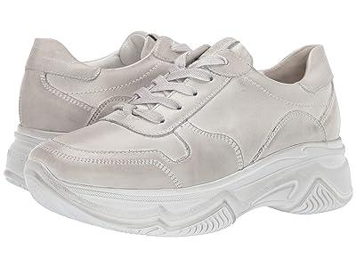 Paul Green Blend Sneaker (White Leather) Women