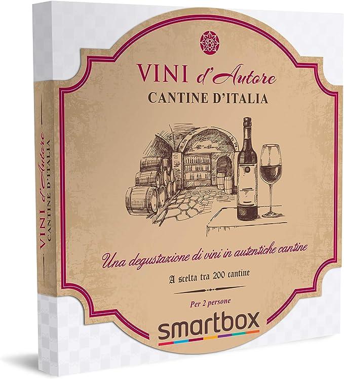 85 opinioni per Smartbox- Cantine d'Italia- Cofanetto Regalo Coppia, 1 Degustazione di Vini per