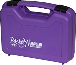 product image for MTM 805-25 Single Pistol Handgun Case (Purple),Medium