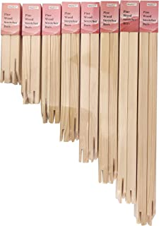 Pine Wood Stretcher Bars Canvas Prints Frames Strips Canvas Stretcher Frames, Pine Wood Oil Painting Strips Bar Set, Multi...