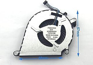 HP Omen 15-ax 15-ax000 15-ax100 15-ax200、DC 5V4ピン用ラップトップCPU冷却ファン (Color : Default)