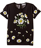 Dolce & Gabbana Kids - Margherite Jersey T-Shirt (Toddler/Little Kids)