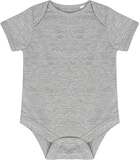 LARKWOOD LW500 Baby Boys Essential Short-Sleeved Bodysuit