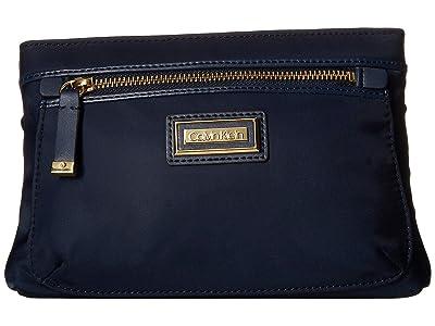 Calvin Klein Belfast Nylon Fanny Pack (Navy) Handbags