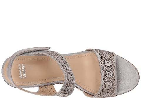 Johnston & Murphy Georgiana Pewter Metallic Leather For Cheap Really Sale Online Discount Top Quality For Sale Sale Online Free Shipping New Arrival 4YWAA