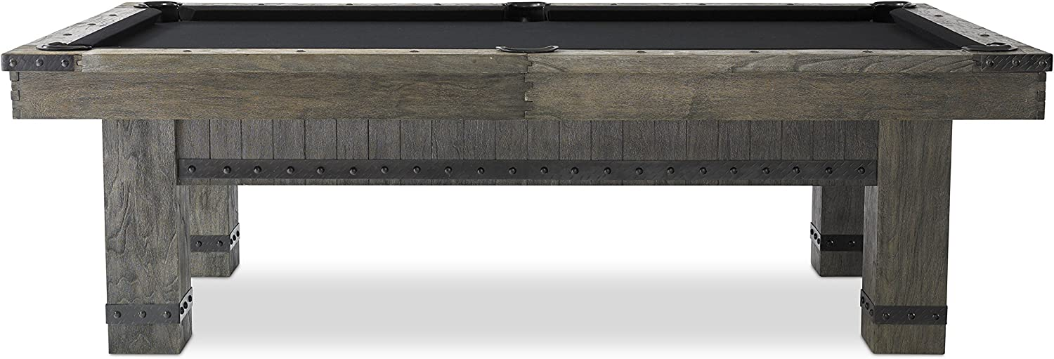 Time sale Plank Hide Co Morse Pool Table Grey in Finish-Slate Max 58% OFF a Billiard