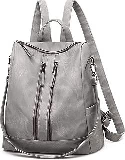 Qyoubi Women's Fashion Backpack Purse Anti-theft Girls Casual Shopping Daypack Convertible Multipurpose Travel Bag