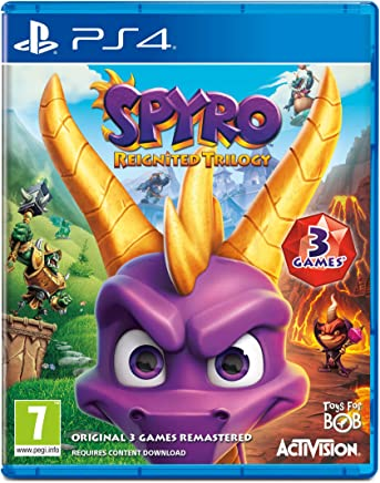 (PlayStation 4, Standard Edition) - Spyro Trilogy Reignited (PS4)